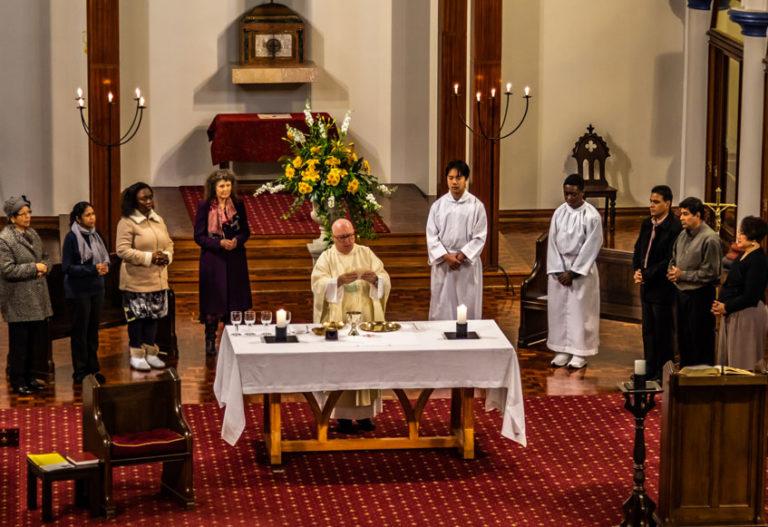 Mass Times at St Benedicts - Newton - Auckland - NZ
