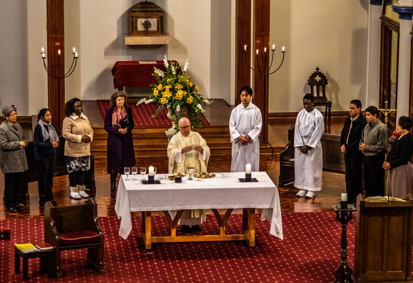 Mass Times at St Benedicts - Newton - Auckland - NZ
