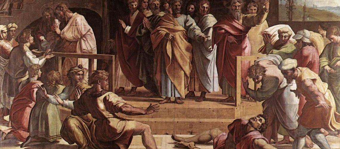 1024px-VA_-_Raphael_The_Death_of_Ananias_1515