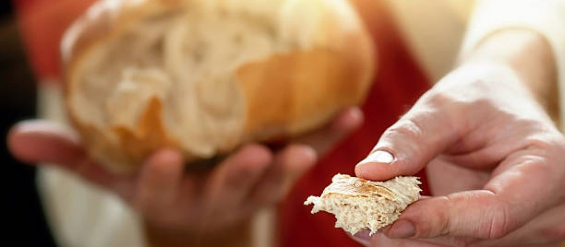 This image is ideal for celebrating the body of Christ and the bread of life.